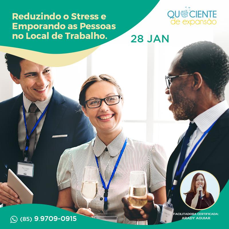 REDUZINDO O STRESS E EMPODERANDO AS PESSOAS NO LOCAL DE TRABALHO