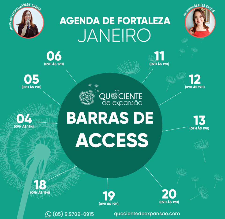 Barras de Access em Fortaleza com Arady Aguiar